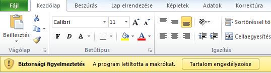 Excel-2010-uzenetsav
