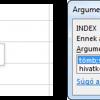 Az INDEX függvény titkai profiknak