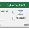 Speciális átalakítások szövegből oszlopok funkcióval